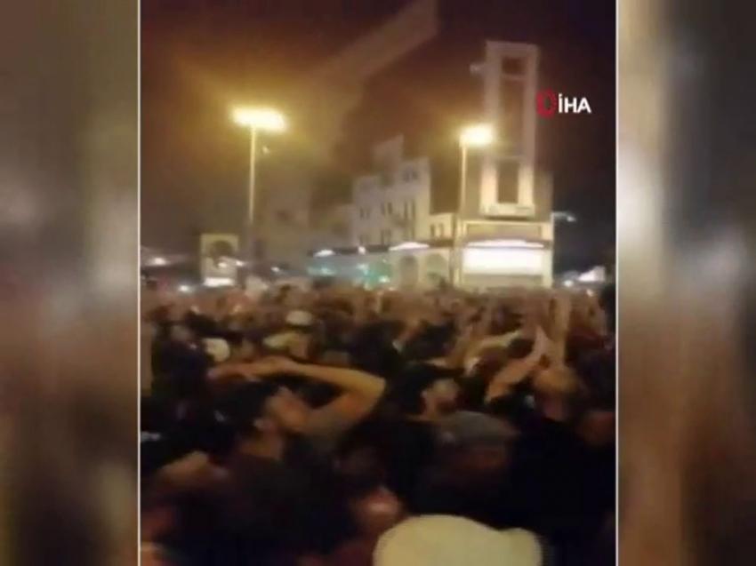 Lübnan sokaklarında Erdoğan sloganları