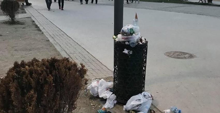Mudanyalılar çöp sorunundan oldukça şikayetçi