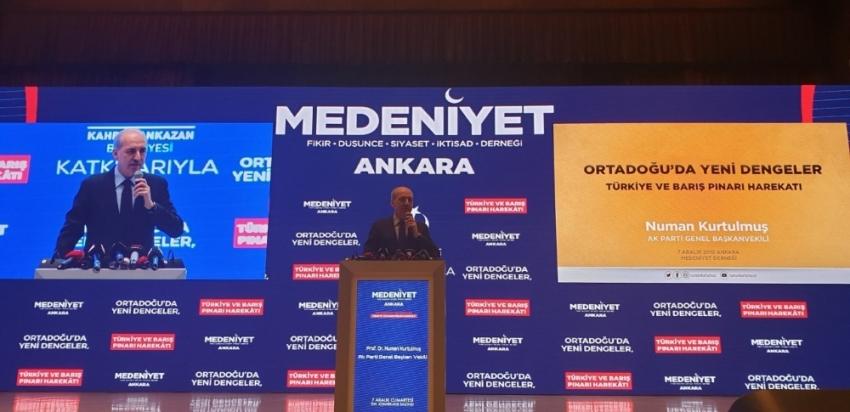 """Kurtulmuş: """"Türkiye, Akdeniz'deki varlığını bu anlaşma ile ortaya koymuştur"""""""