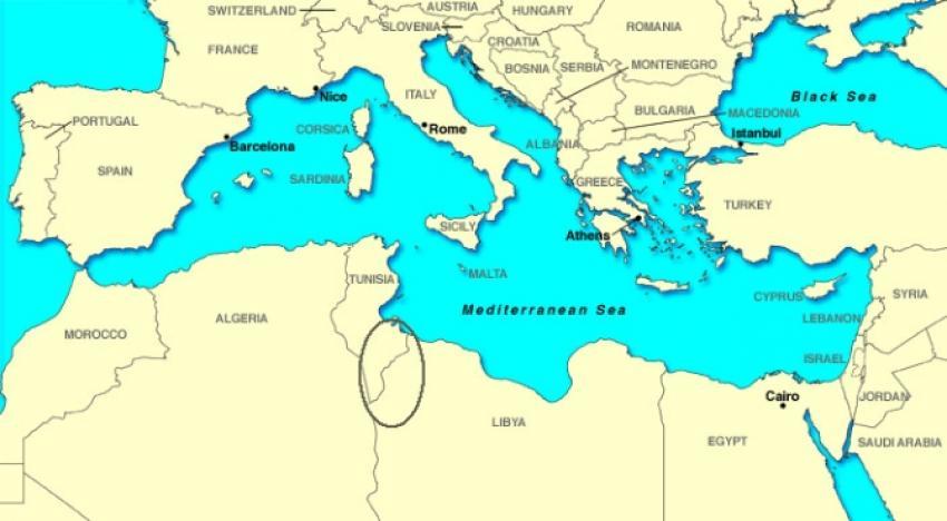 Tunus Libya sınırına duvar örüyor