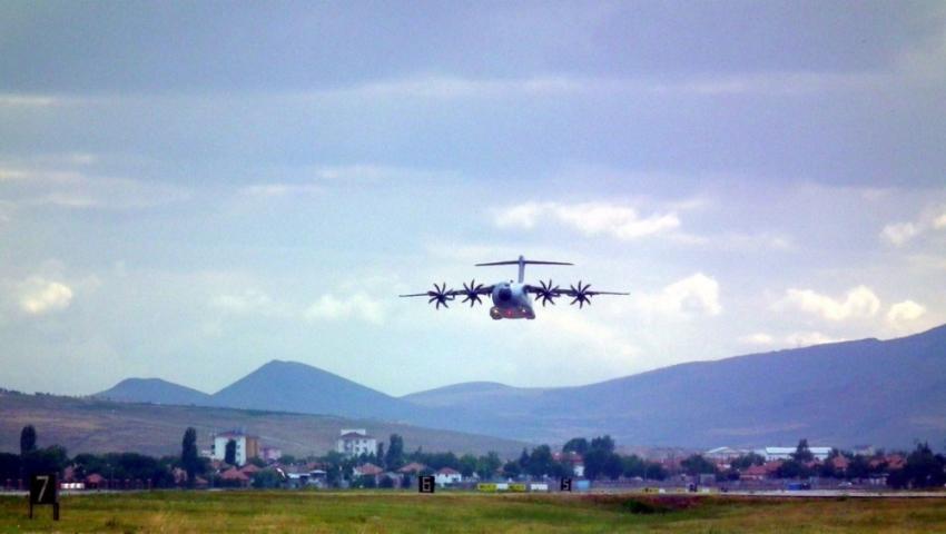 Atlas uçaklarının 8'incisi birliğine katıldı