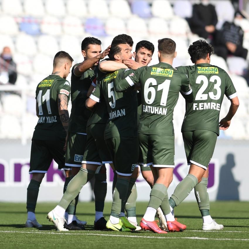 Bursaspor, ligin son maçına 5 eksikle çıkacak