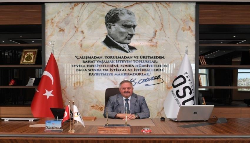 OSB Yönetim Kurulu Başkanı Tahir Nursaçan İSO 500 listesini değerlendirdi