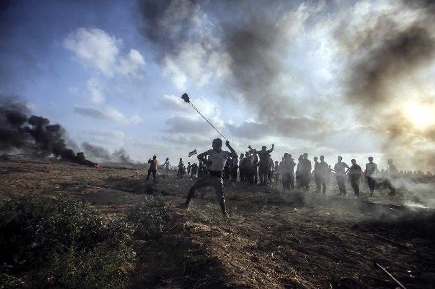 İsrail askeri yine saldırdı: 1 ölü, 220 yaralı