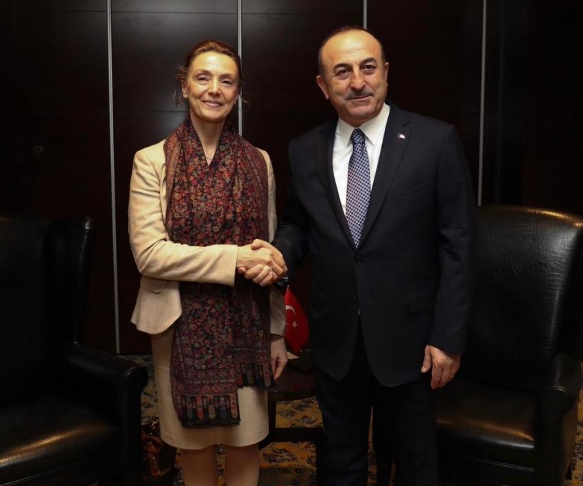 Bakan Çavuşoğlu Hırvat mevkidaşı ile görüştü