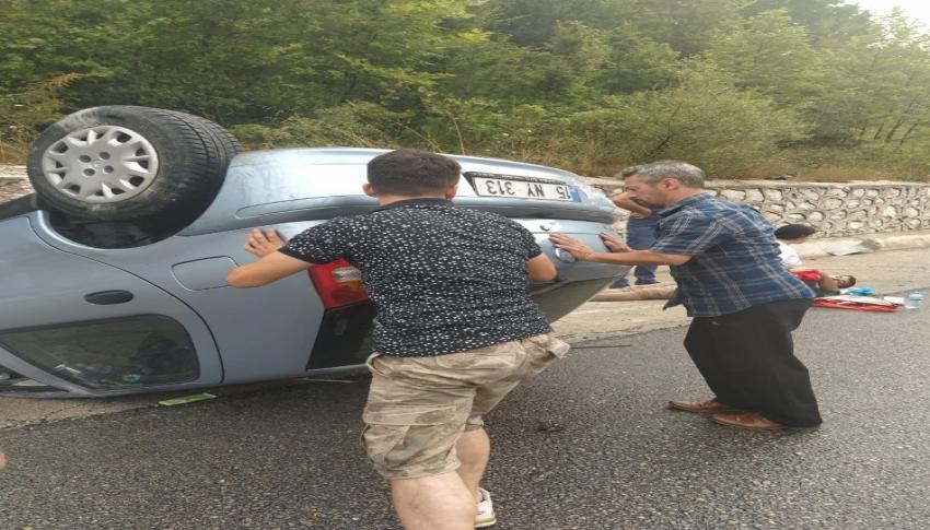 Bursa-Ankara yolunda kaza