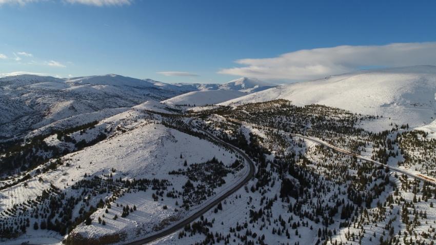 Sille Baraj Parkı havadan görüntülendi