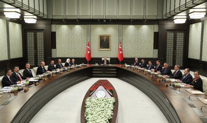 Kabine Toplantısı başladı