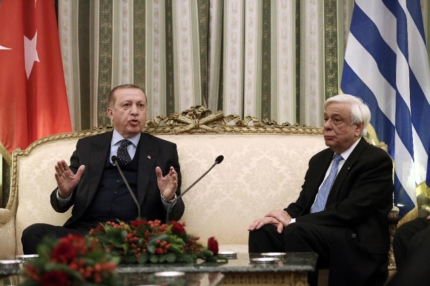 Pavlopulos Erdoğan'ın açıklamasını yorumladı