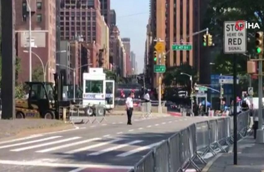 BM'nin ilk gününde yoğun güvenlik önlemleri alındı