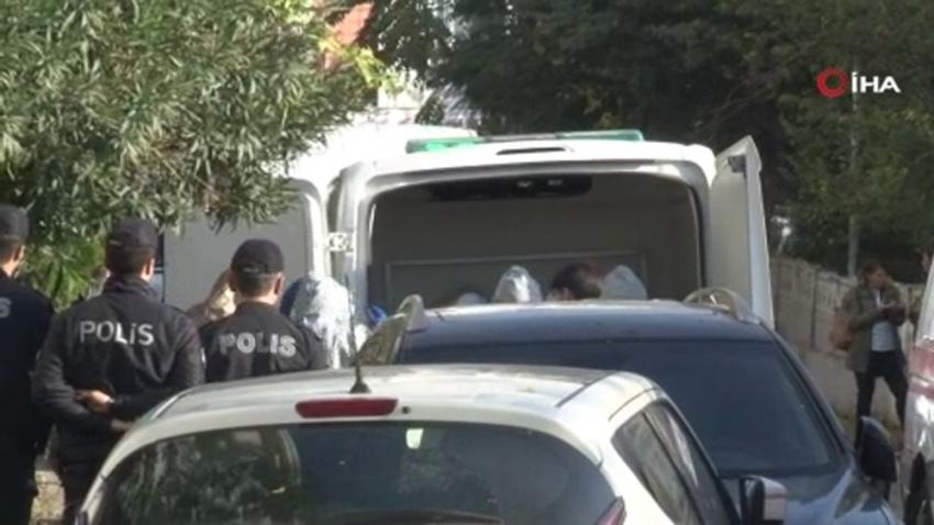 Bakırköy'de ölü bulunan 1'i çocuk 3 kişinin cesetleri Adli Tıp Kurumunda