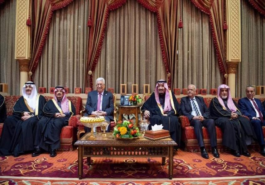 Filistin Devlet Başkanı Abbas, Kral Selman ile görüştü