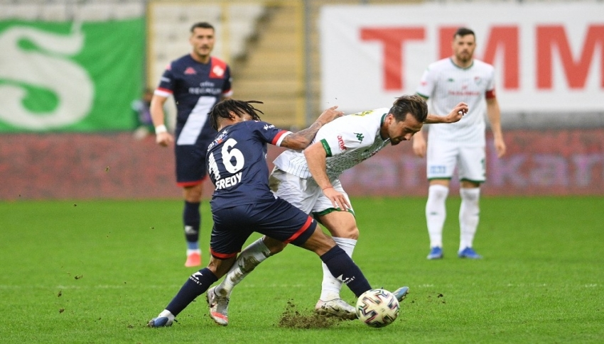 Bursaspor'un 20 maçlık gol zinciri sona erdi