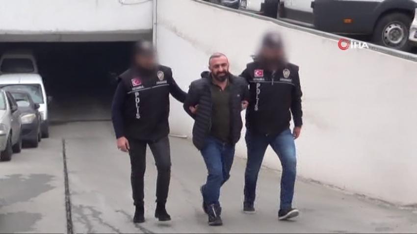 """""""Arap Emrah"""" lakaplı suç örgütü lideri Emrah Sever tutuklandı"""