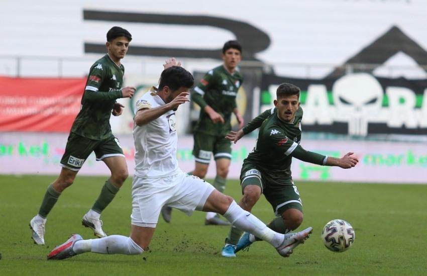 Bursaspor-Akhisarspor maçından en özel kareler