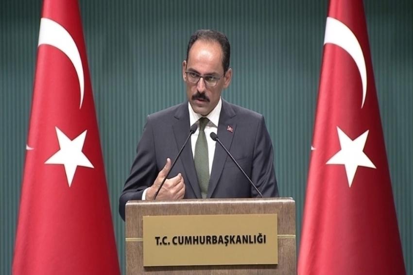 """""""Türkiye, 3 terör örgütüyle aynı anda mücadele etmeye devam ediyor"""""""