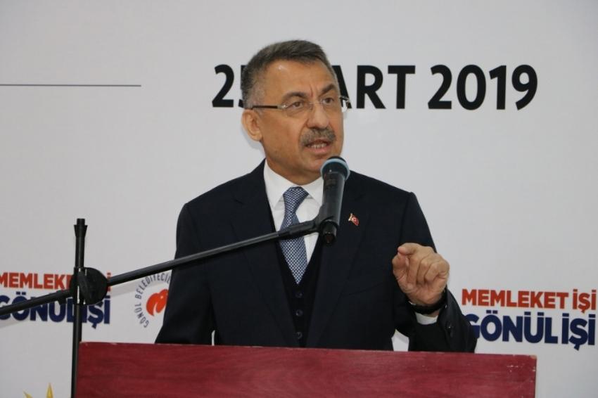 Cumhurbaşkanı Yardımcısı Oktay, KKTC'de iftara katılacak