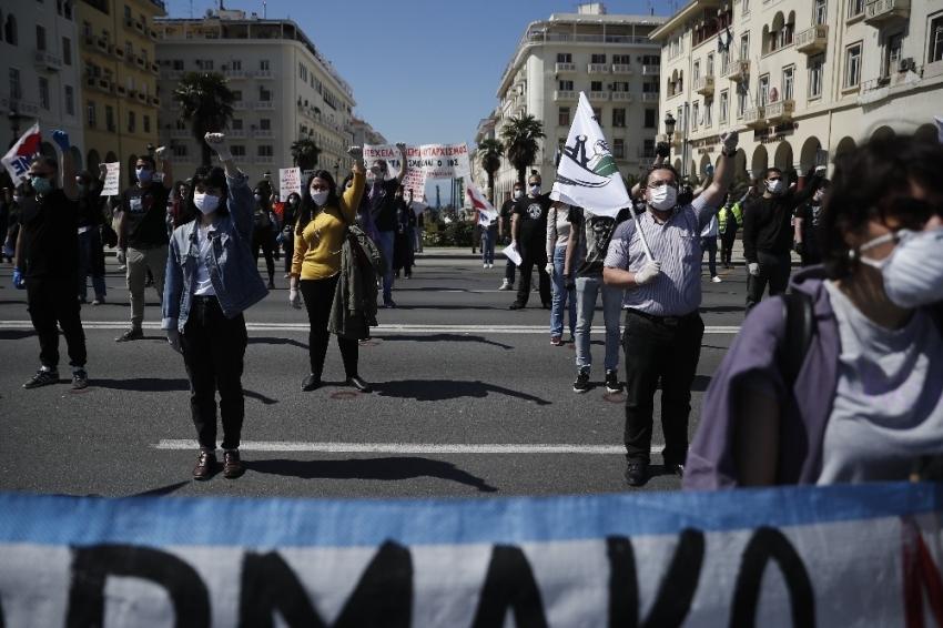 Yunanistan'da 1 Mayıs