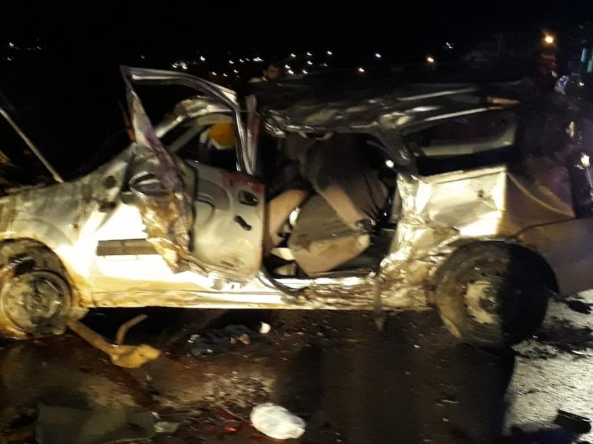 Virajı alamayan otomobil takla attı: 2 ölü, 5 yaralı