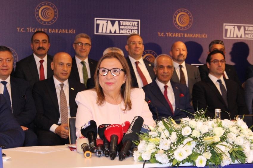 Bakan Pekcan Temmuz ayı ihracat rakamlarını açıkladı