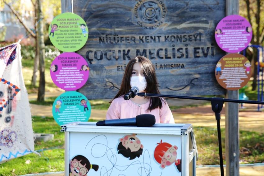 Nilüfer'de Dünya Çocuk Hakları Günü