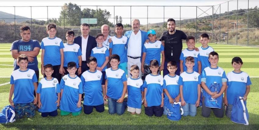 Geleceğin futbolcuları Mudanya'da yetişiyor