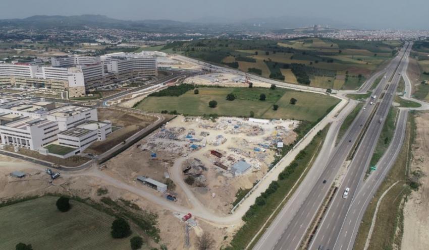 6 milyon kişiye hizmet verecek Bursa Şehir Hastanesi açılışa gün sayıyor