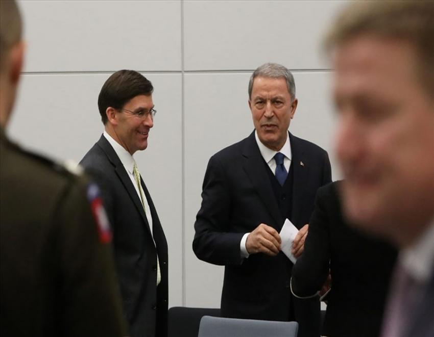Akar, ABD Savunma Bakanı Esper ile görüştü