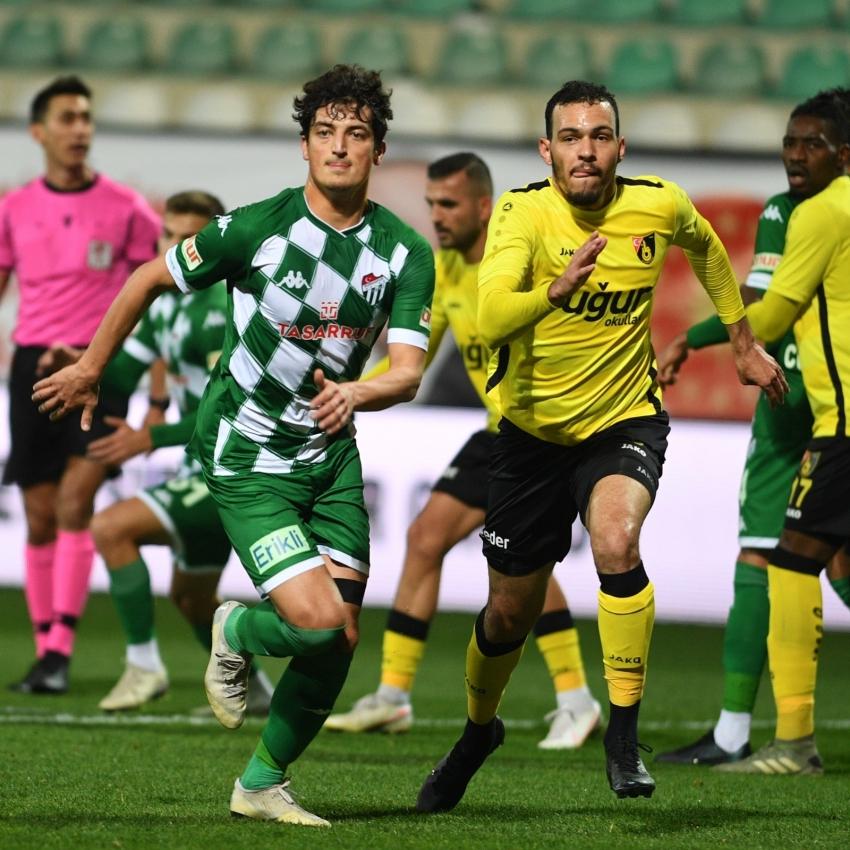 Bursaspor 8 maçtır İstanbulspor'a yenilmiyor