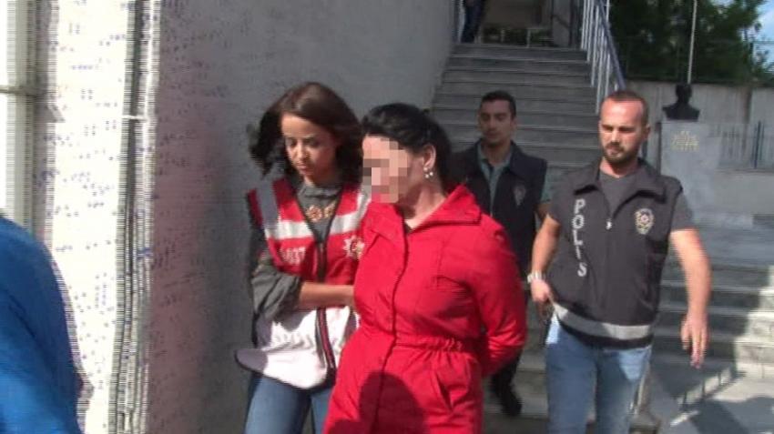 Sevgilisinin ağabeyinin iş yerini kundaklatan kadın yakalandı