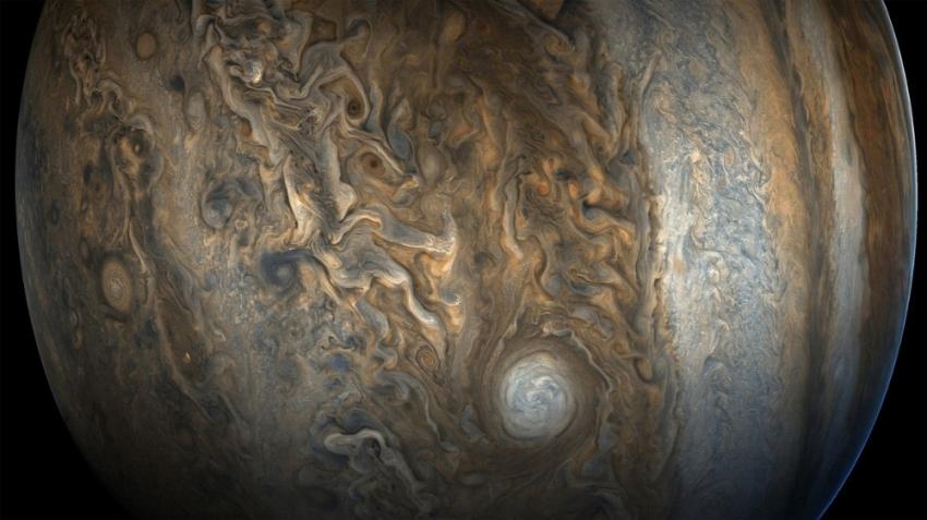 İşte Jüpiter'in yeni fotoğrafları