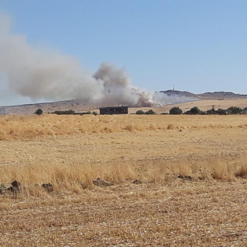 Diyarbakır'da anız yangınları devam ediyor