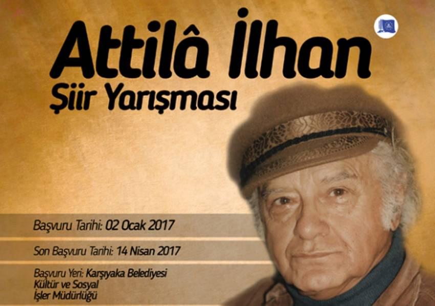 Şairler 'Attila İlhan' anısına yarışacak