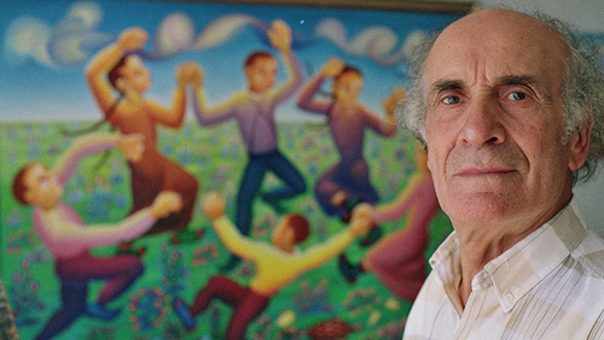 Ünlü ressam İbrahim Balaban Bursa'da toprağa verildi