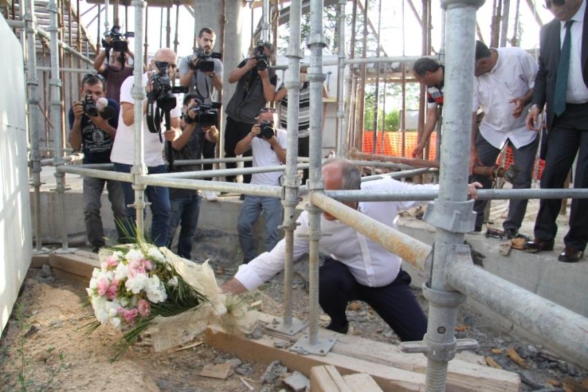 Muharrem İnce, Demirel'in mezarını ziyaret etti