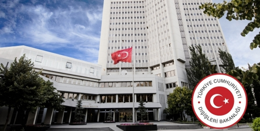 Dışişleri Bakanlığından Yunanistan'a tepki