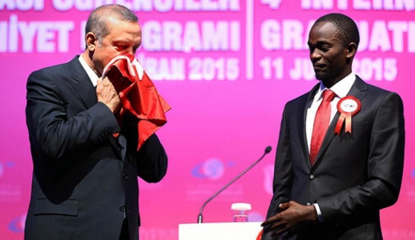 Erdoğan'a bayrak hediye eden Jamil'in hikayesi