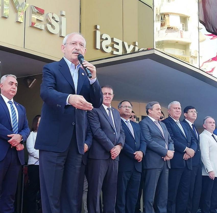 """Kılıçdaroğlu: """"Demokratik yollarla Türkiye'yi aydınlığa çıkaracağız"""""""