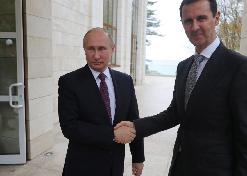 Putin'den Suriye ziyareti