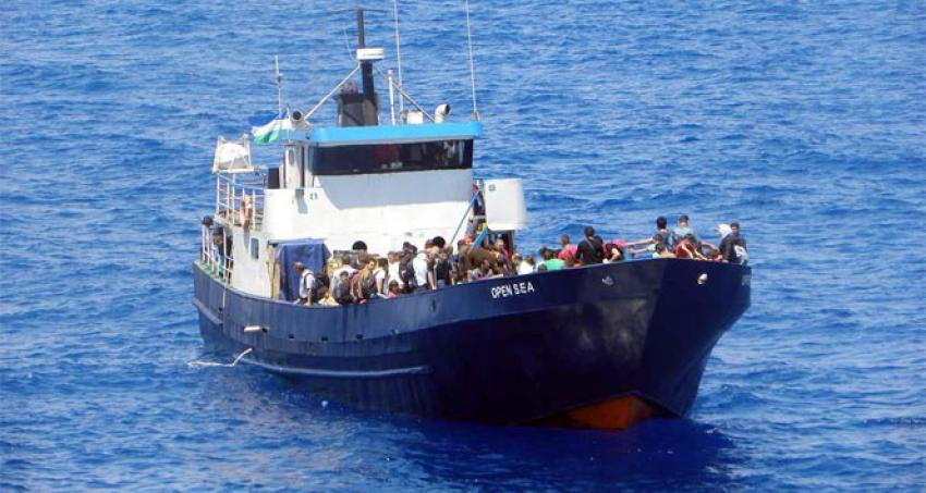 45 Suriyeli göçmen yakalandı