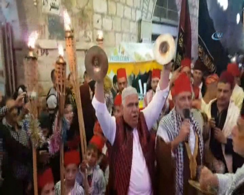 Kudüs Ramazan'ı böyle uğurladı