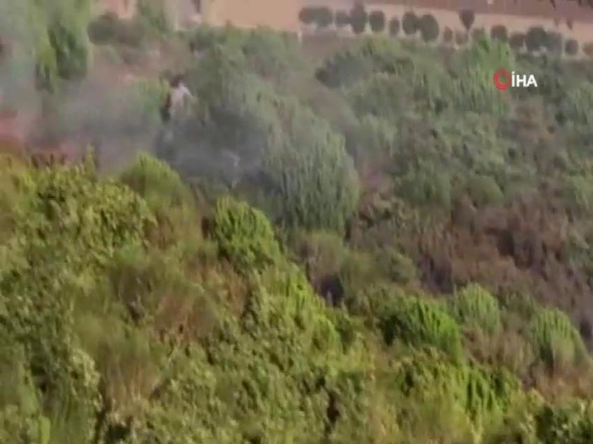 """İstanbul Valiliği: """"Ormanda yangın çıkarmaya çalışan şüpheli yakalandı"""""""