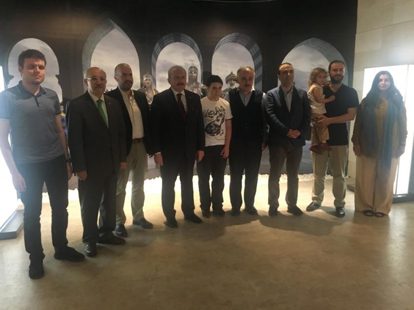 TBMM Başkanı Mustafa Şentop yargı reformuyla ilgili konuştu
