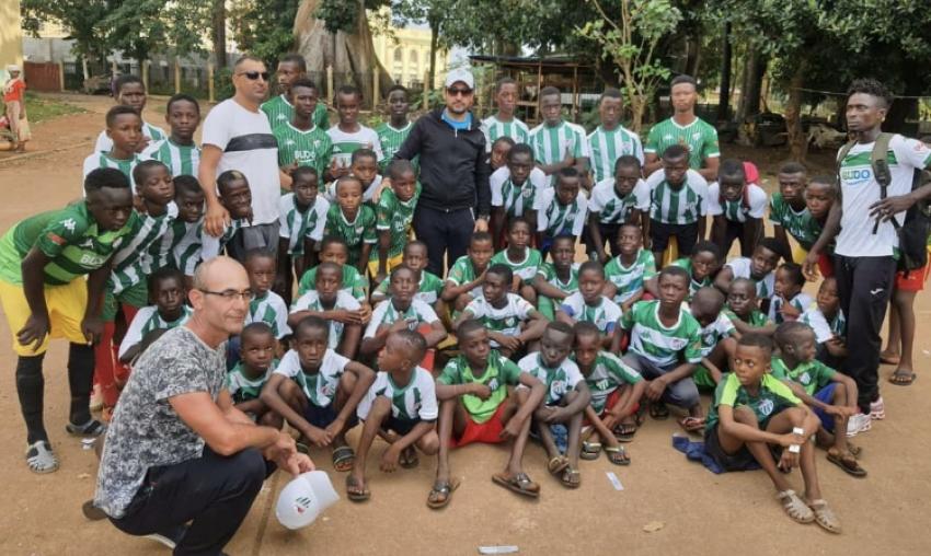 Nilbiad Afrika'ya Bursaspor sevgisini aşılıyor