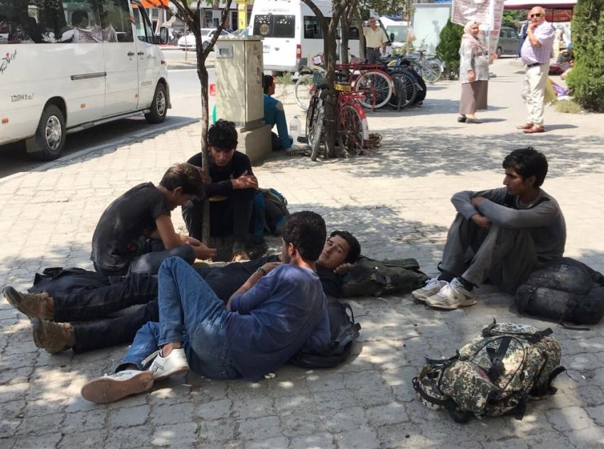 36 kaçak göçmen yakalandı
