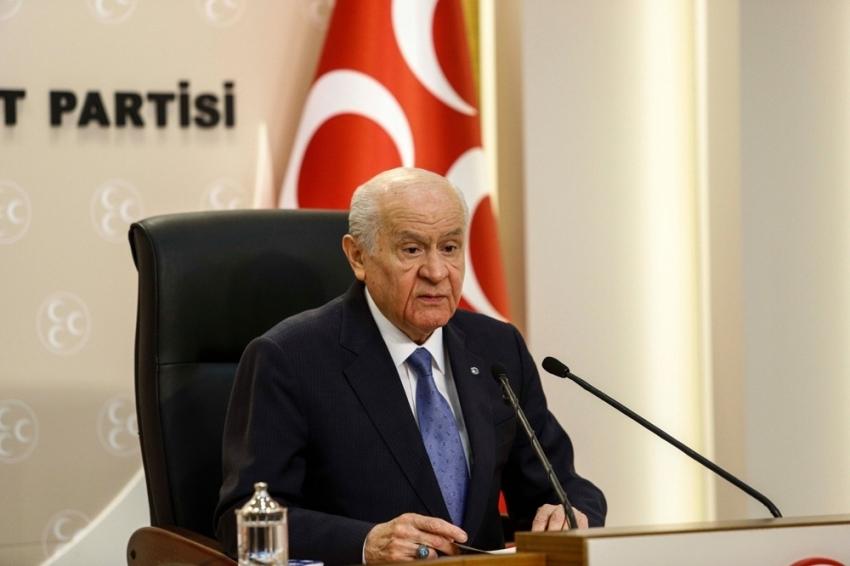 MHP Lideri Bahçeli'den 29 Ekim mesajı