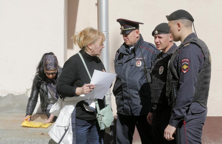 Rusya Devlet Duması'na bomba ihbarı
