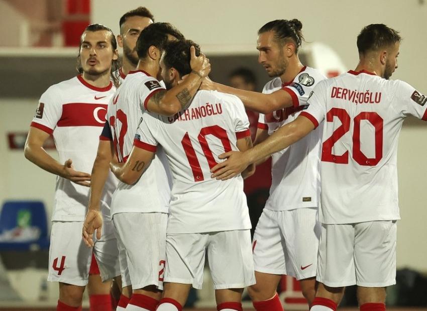 Cebelitarık-Türkiye karşılaşmasından kareler