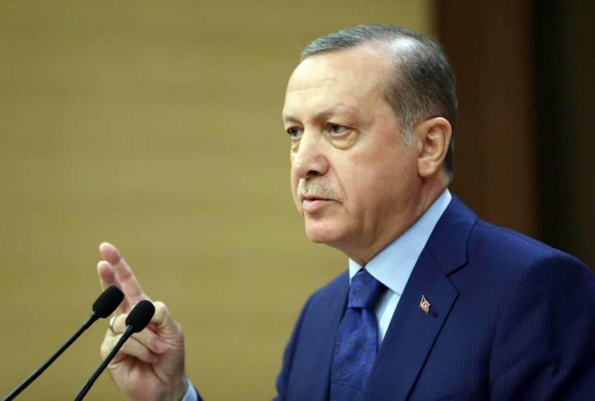 Erdoğan, BM Genel Sekreteri Guterres ile Kıbrıs'ı görüştü