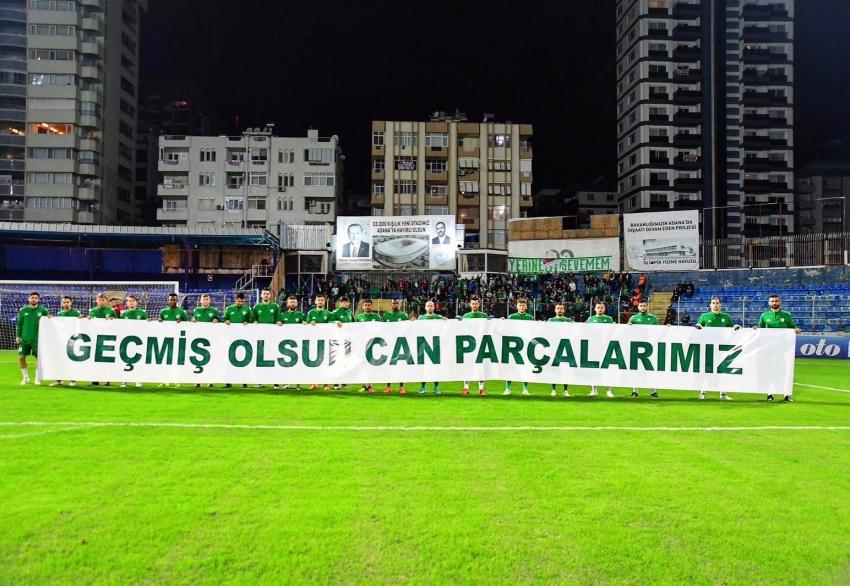 Bursaspor'dan duygulandıran pankart!